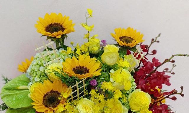 Shop hoa tươi quận 1 giao hàng tận nơi nhanh chóng, giá rẻ